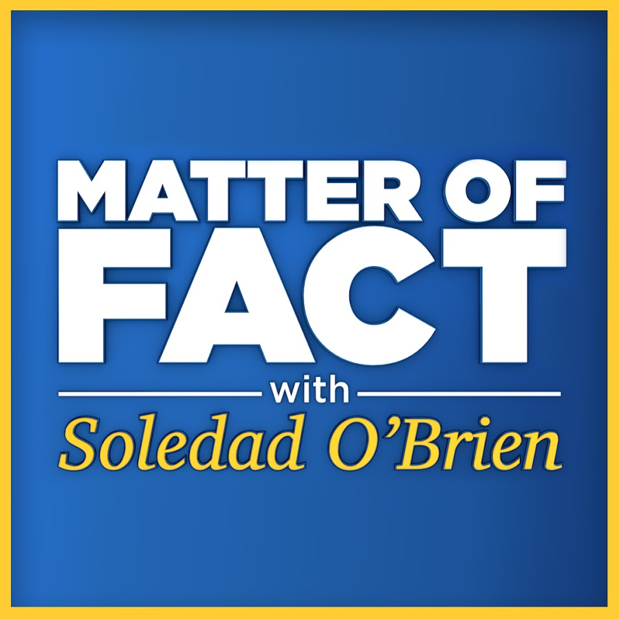 Matter of Fact TV with Soledad O'Brien logo